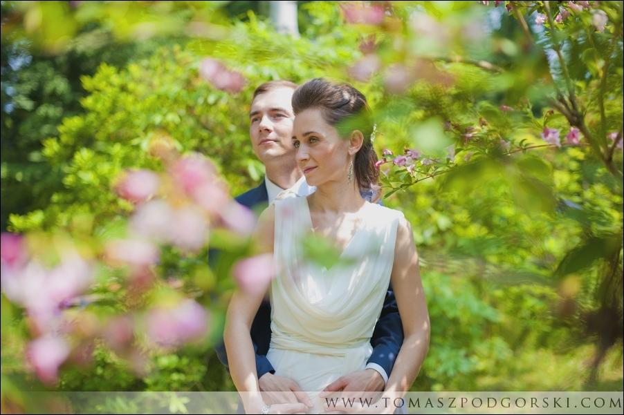 Plener ślubny w Rogowie
